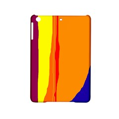 Hot colorful lines iPad Mini 2 Hardshell Cases