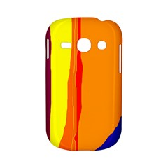 Hot colorful lines Samsung Galaxy S6810 Hardshell Case
