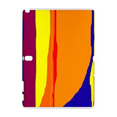 Hot colorful lines Samsung Galaxy Note 10.1 (P600) Hardshell Case
