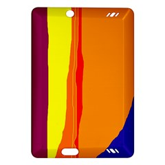 Hot colorful lines Amazon Kindle Fire HD (2013) Hardshell Case