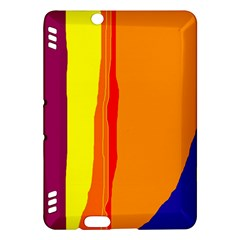 Hot colorful lines Kindle Fire HDX Hardshell Case