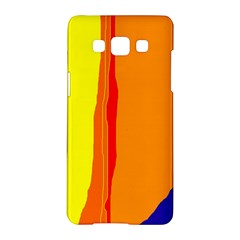 Hot colorful lines Samsung Galaxy A5 Hardshell Case