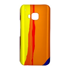 Hot colorful lines HTC One M9 Hardshell Case