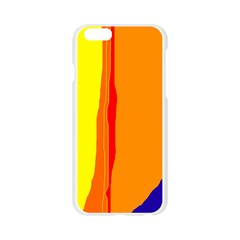Hot colorful lines Apple Seamless iPhone 6/6S Case (Transparent)