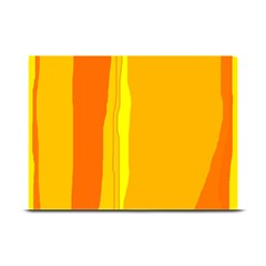 Yellow and orange lines Plate Mats