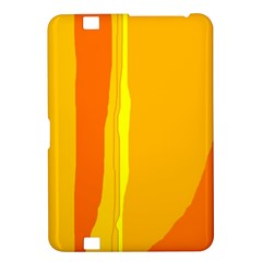Yellow and orange lines Kindle Fire HD 8.9