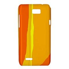 Yellow and orange lines Motorola XT788