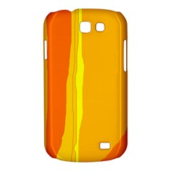 Yellow and orange lines Samsung Galaxy Express I8730 Hardshell Case