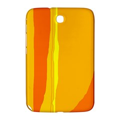 Yellow and orange lines Samsung Galaxy Note 8.0 N5100 Hardshell Case