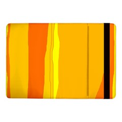 Yellow and orange lines Samsung Galaxy Tab Pro 10.1  Flip Case