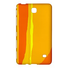 Yellow and orange lines Samsung Galaxy Tab 4 (7 ) Hardshell Case