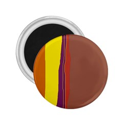 Colorful lines 2.25  Magnets