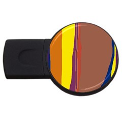 Colorful lines USB Flash Drive Round (2 GB)