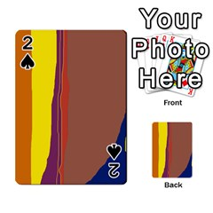 Colorful lines Playing Cards 54 Designs