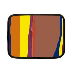Colorful lines Netbook Case (Small)