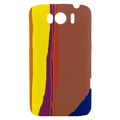 Colorful lines HTC Sensation XL Hardshell Case