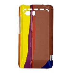 Colorful lines HTC Vivid / Raider 4G Hardshell Case