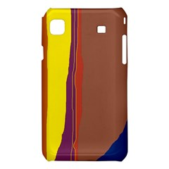 Colorful lines Samsung Galaxy S i9008 Hardshell Case