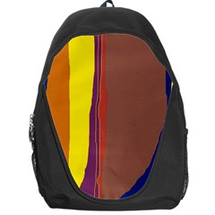 Colorful lines Backpack Bag