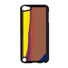 Colorful lines Apple iPod Touch 5 Case (Black)