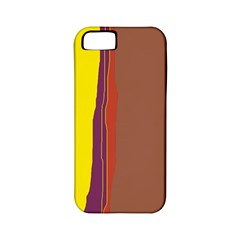 Colorful lines Apple iPhone 5 Classic Hardshell Case (PC+Silicone)