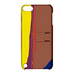 Colorful lines Apple iPod Touch 5 Hardshell Case with Stand