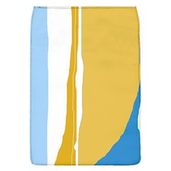 Blue and yellow lines Flap Covers (L)