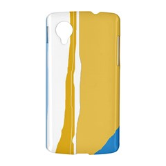 Blue and yellow lines LG Nexus 5