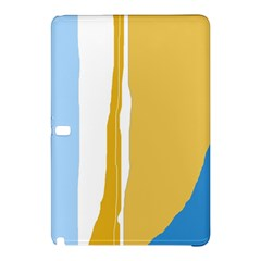 Blue and yellow lines Samsung Galaxy Tab Pro 12.2 Hardshell Case