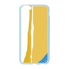 Blue and yellow lines Apple Seamless iPhone 6/6S Case (Color)