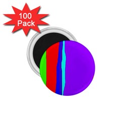 Colorful decorative lines 1.75  Magnets (100 pack)
