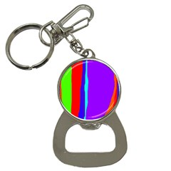 Colorful decorative lines Bottle Opener Key Chains