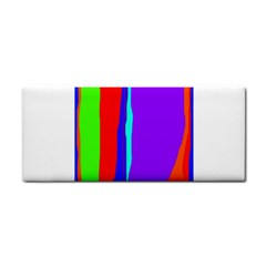 Colorful decorative lines Hand Towel