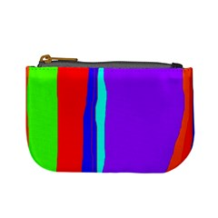 Colorful decorative lines Mini Coin Purses