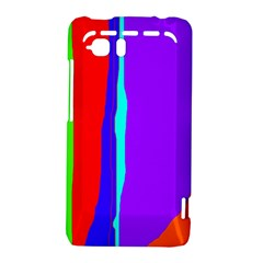 Colorful decorative lines HTC Vivid / Raider 4G Hardshell Case