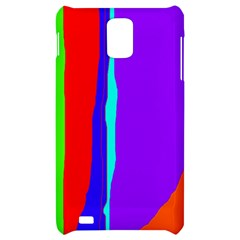 Colorful decorative lines Samsung Infuse 4G Hardshell Case
