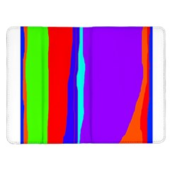 Colorful decorative lines Kindle Fire (1st Gen) Flip Case