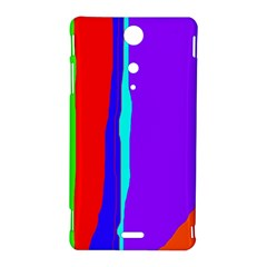 Colorful decorative lines Sony Xperia TX