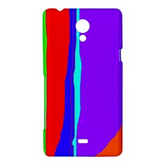 Colorful decorative lines Sony Xperia T