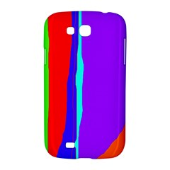 Colorful decorative lines Samsung Galaxy Grand GT-I9128 Hardshell Case