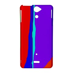 Colorful decorative lines Sony Xperia V