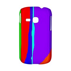 Colorful decorative lines Samsung Galaxy S6310 Hardshell Case