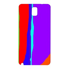 Colorful decorative lines Samsung Galaxy Note 3 N9005 Hardshell Back Case