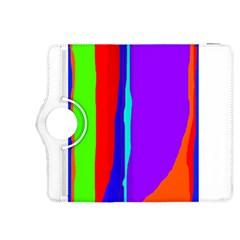 Colorful decorative lines Kindle Fire HDX 8.9  Flip 360 Case