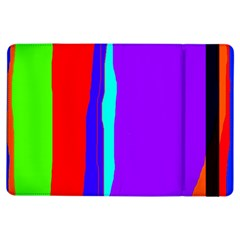Colorful decorative lines iPad Air Flip