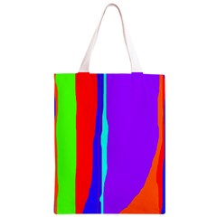 Colorful decorative lines Classic Light Tote Bag