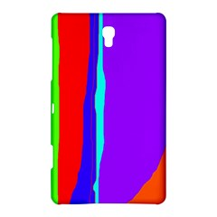 Colorful decorative lines Samsung Galaxy Tab S (8.4 ) Hardshell Case