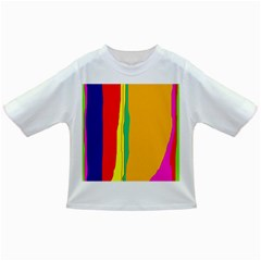 Colorful lines Infant/Toddler T-Shirts