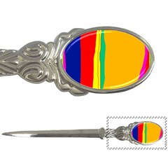 Colorful lines Letter Openers
