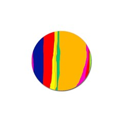 Colorful lines Golf Ball Marker (10 pack)